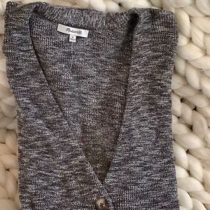 Madewell button front cardigan